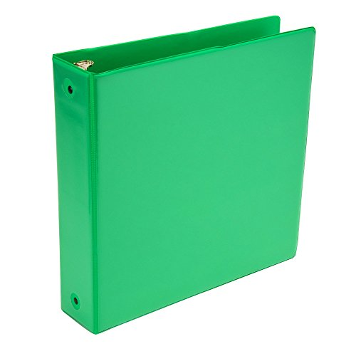 Samsill Fashion Color 3 Ring View Binder, 2 Inch Round