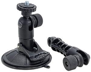 Arkon Sticky Suction Windshield or Dash Camera Mount for Sony Samsung Panasonic Nikon Cameras