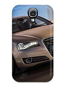 Heidiy Wattsiez's Shop 3496895K10414139 Special Skin Case Cover For Galaxy S4, Popular Audi A8 Phone Case