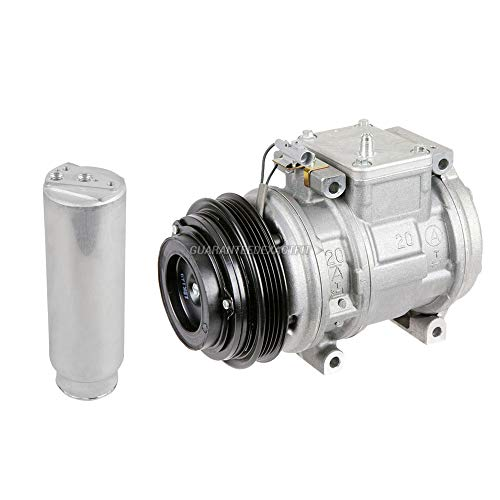 AC Compressor w/A/C Drier For Toyota Cressida 1989 1990 1991 1992 - BuyAutoParts 61-89834R2 New