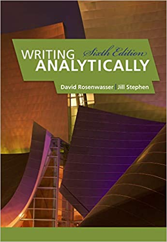 writing analytically 8th edition paperback