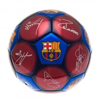 Barcelona Signature Football - Size 5 (Messi Signed Ball)