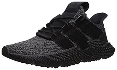 adidas Originals Men's Prophere Running Shoe, Black/Solid red, 5 M US