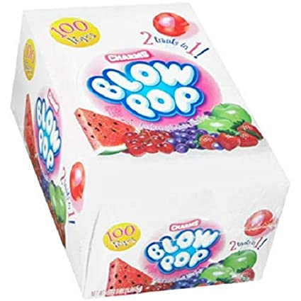 Charms Blow Pop Assorted (100 ct.) (pack of 2)