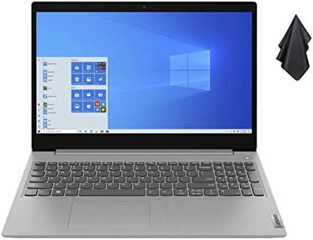"2021 Newest Lenovo IdeaPad 3 15.6"" HD Touch Screen Laptop, Intel Quad-Core i5-1035G1 Up to three.6GHz (Beats i7-8550U), 12GB DDR4 RAM, 256GB PCI-e SSD, Webcam, WiFi 5, HDMI, Windows 10 S + Oydisen Cloth"