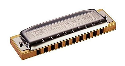 Hohner M533016 - Armónica en Do Mayor (acero inoxidable), color azul