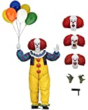 """NECA - IT - 7"""" Scale Action Figure - Ultimate Pennywise (1990)"""