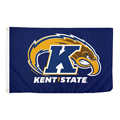 Desert Cactus Kent State University Golden Flashes 100% Polyester Indoor Outdoor Flag KSU