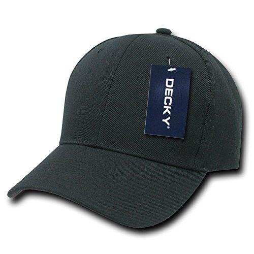 Tinta Unita Cappelli PRO Baseball cap, Uomo, PRO, Black, N/A Plain Hats 306-BLK