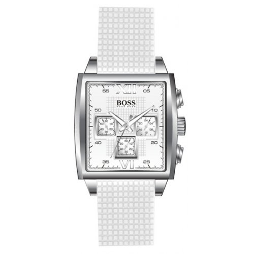 Hugo Boss 1502208 - Reloj analógico de mujer de cuarzo con correa blanca: Amazon.es: Relojes