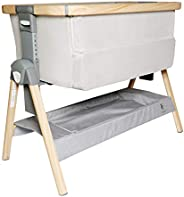 California Dreaming Bedside Crib by VENICE CHILD - Bassinet w/Travel Case, Bamboo Bassinet Sheet, Removable Ba
