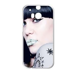 Jessie J HTC One M8 Cell Phone Case White H7905926