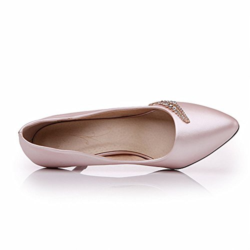 Latasa (gamma Di Taglie: 4,5-14) Scarpe Eleganti Da Donna Con Tacco Alto, Scarpe Rosa