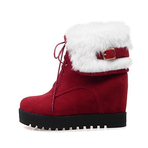 Botas mujer nieve BalaMasa Para de Rojo zYwqdTfx
