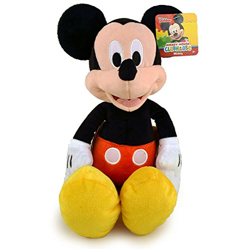 "Mickey Disney Mouse Doll (Disney Classic Traditional 15.5"" Mickey Mouse Clubhouse Series Plush Dolls)"