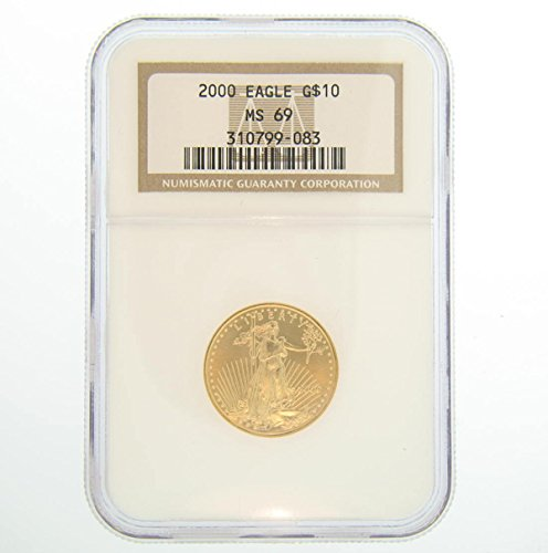 2000 American Gold Eagles $10 MS69 NGC