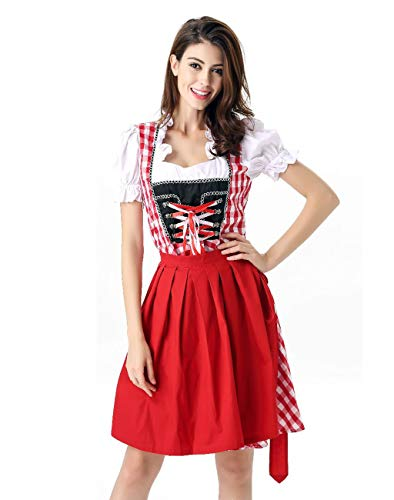 Charming House German Oktoberfest Costume Beer Girl Drindl