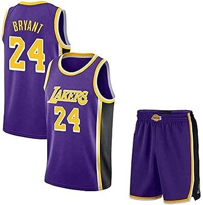 AKCHIUY Camiseta De Baloncesto para Hombre Kobe Bryant # 24 ...
