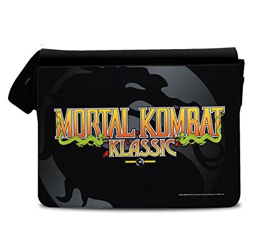Licenza Ufficiale Mortal Kombat Klassic Borsa Messaggero, Borsa Tracolla