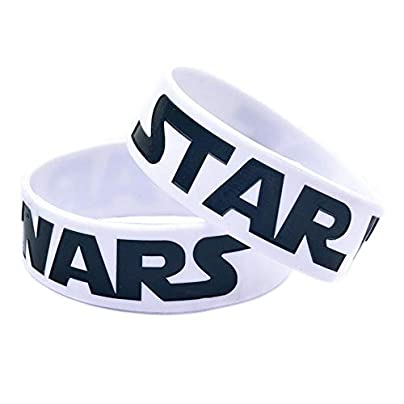 DuDuDu Silicone Bracelets with Sayings Star Wars Rubber Wristbands for Adults and Kids Motivation Inch Set Piecesbirthday Gift Estimated Price £24.99 -