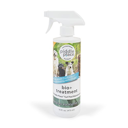 PetSafe Piddle Place Bio+ Enzyme Turf Treatment, Dog Waste Odor - Here Go Spray