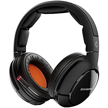 SteelSeries Siberia 800 Lag-Free Wireless Gaming Headset with OLED Transmitter and Dolby 7.1 Surround Sound