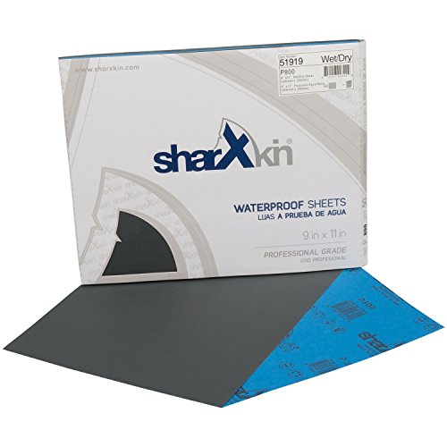 "Wet Dry Abrasive Sandpaper Sheets 9"" x 11"" 50-Count Box w..."