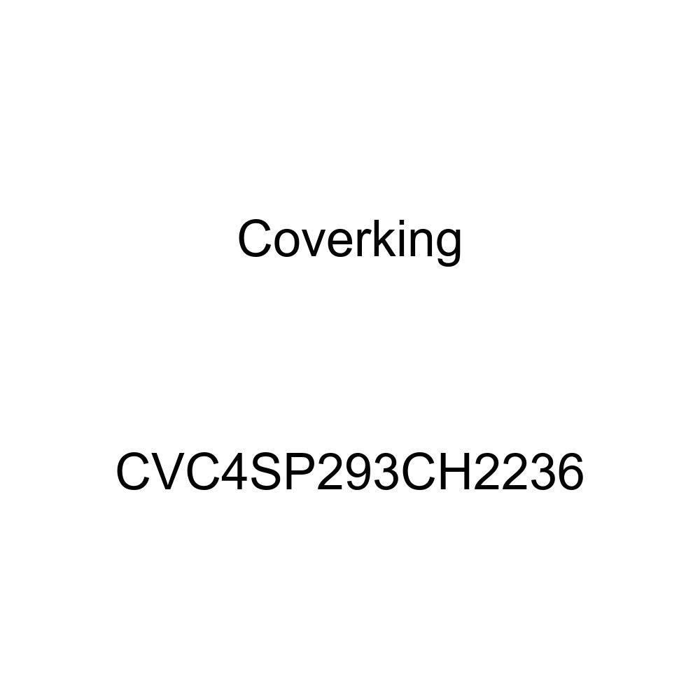 Coverking Custom Fit Car Cover for Select Chevrolet Impala Models Stormproof Black//Yellow CVC4SP293CH2236