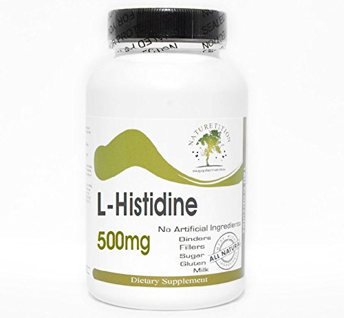 L-Histidine 500mg ~ 200 Capsules – No Additives ~ Naturetition Supplements For Sale