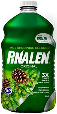 Freshens, Cleans and Degreases Pinalen Original Multicleaner,2-Bottles of 128 fl oz