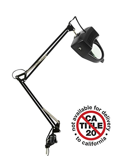 Magnifying Lamp - Black