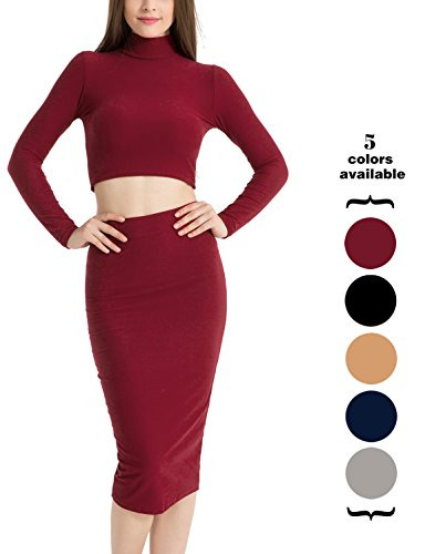 Neck Dress Set - 8