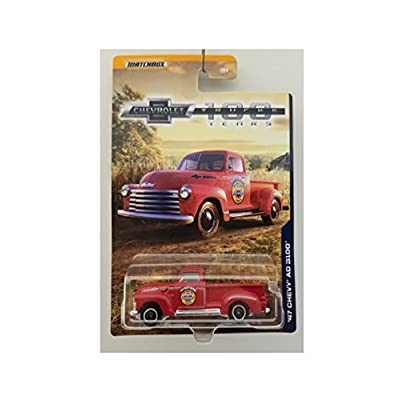 1947 '47 CHEVY STEPSIDE PICKUP TRUCK AD 3100 100 YEARS SERIES MATCHBOX 2020: Everything Else