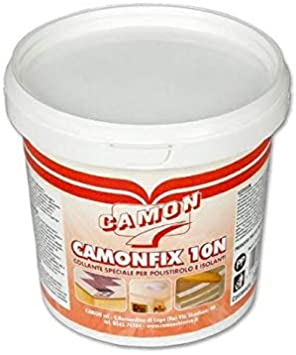 Pegamento adhesivo Camon para poliestireno, 1 kg, Camonfix 10 N