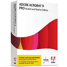Adobe Acrobat Pro 9 Student & Teacher Edition