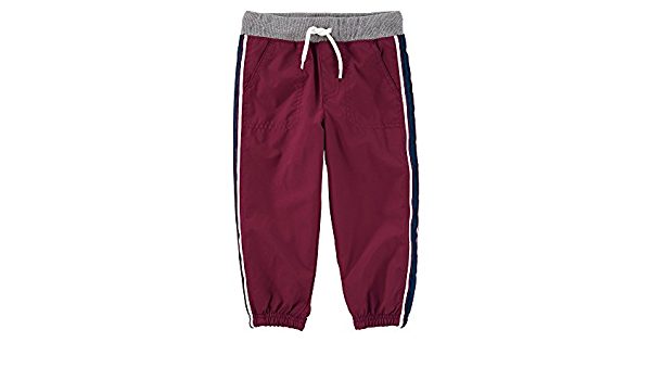 OshKosh BGosh Boys 2T-4T Classic Matte Pants Dark Red 3T