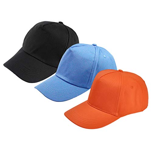 f2a3ed8783402 Wellwear Unisex Baby Baseball Hats Sun Protection Caps for Toddler Kids  Little Boys Girl 3 Pack