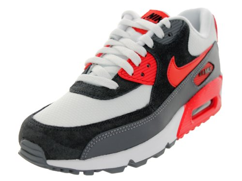 hot sale cheap price Nike Women's Air Max 90 Essential White/Lt Crmsm/Cl Gry/Anthrct Running Shoe 9.5 Women US with credit card for sale dvFgU7JJkv