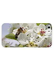 3d Full Wrap Case for iPhone ipod touch4 Animal Bee On A Pear Flower