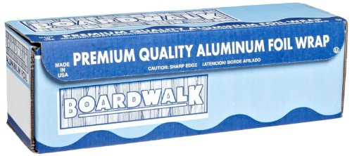 Boardwalk 7112 Extra Thick Standard Aluminum Foil Roll, 1000' Length x 12