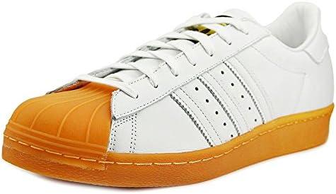 separation shoes 16c9a ff470 adidas Mens Superstar 80s DLX White/Gum Leather Size 8 ...