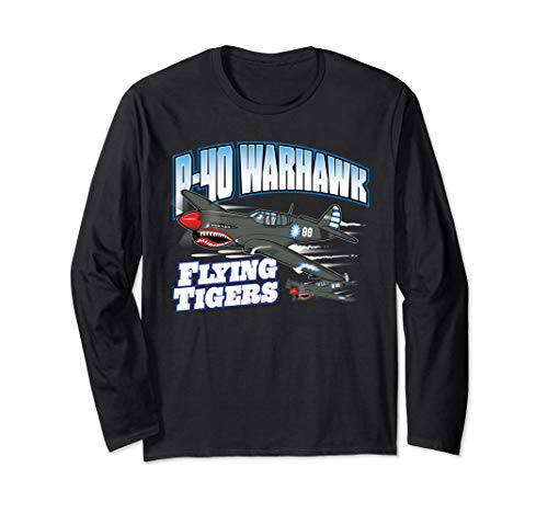 P-40 Warhawk Flying Tigers Warbirds Shirt