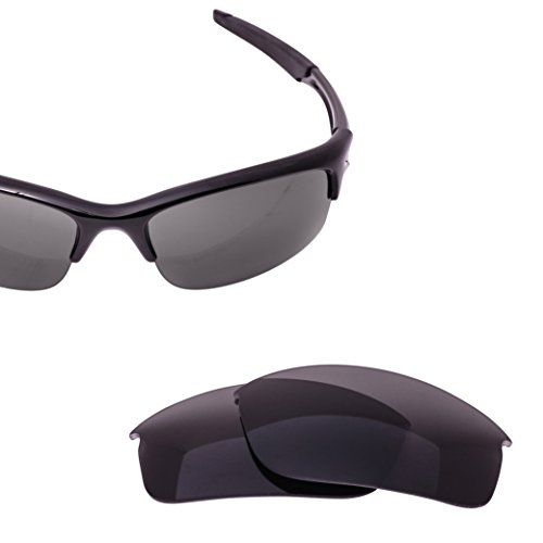 6168ba712b Galleon - LenzFlip Replacement Lens For Oakley BOTTLE ROCKET - Gray Black  Polarized Lenses