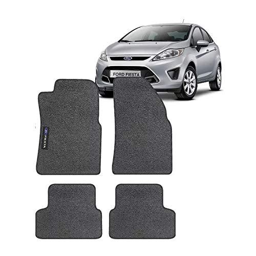 Jogo de Tapetes Titanium Preto PLUS-0408 comp. Ford New Fiesta 2012 2013 2014 2015