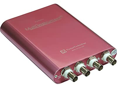 VT DSO-2A20E: PC USB 10~16Bit 200MSPS 80MHz Oscilloscope, 12-bit 200MSPS 60MHz AWG Signal Generator