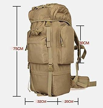 bd01cd3ac71 xbzz Suben bolsas para hombres y mujeres hombro Camo mochila montaña super viaje  bolso mochila de gran capacidad , yellow , 65l,(Moda): Amazon.es: Deportes  ...