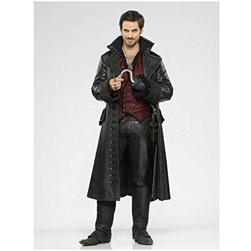 Colin O'Donoghue 8 x 10 Photo Once Upon a Time Rite (set of 3) Red Vest