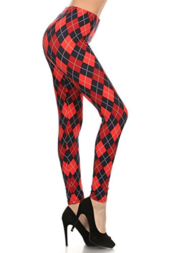 Comic Strip Leggings - R514-OS Harley Quinn Print Fashion