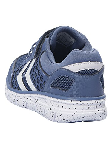 Hummel Crosslite Jr, Zapatillas de Deporte Unisex Niños Azul (Vintage Indigo)