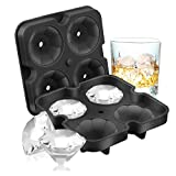 Ice Cube Trays, Diamond-Shaped Fun Ice Cube Molds BPA Silicone...
